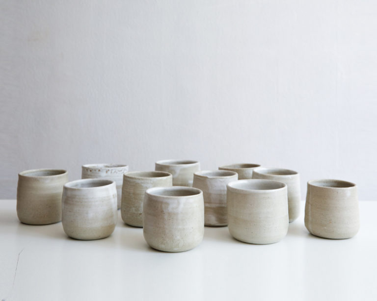 handmade functional tableware ceramic cups