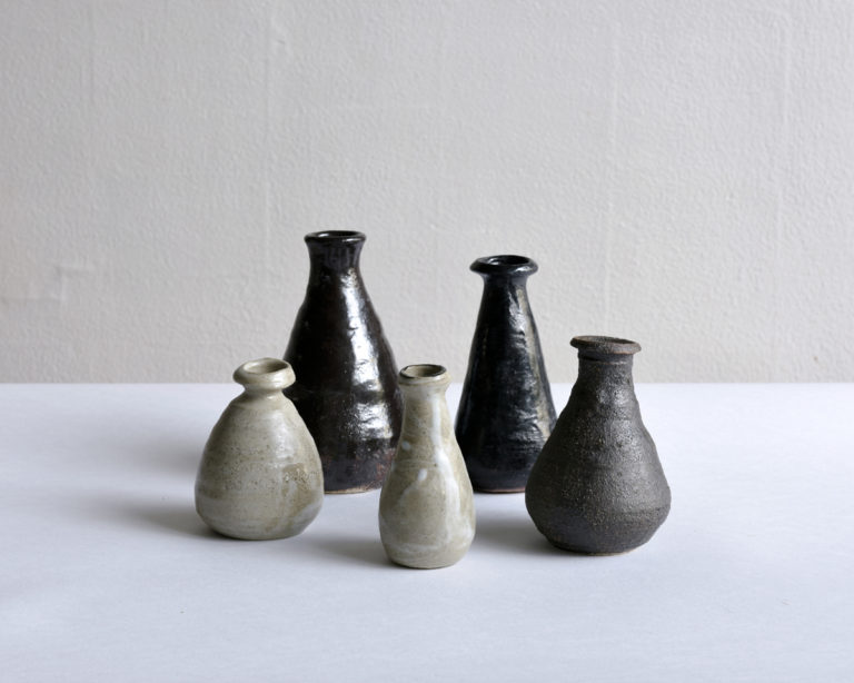 handmade functional tableware ceramic bottles