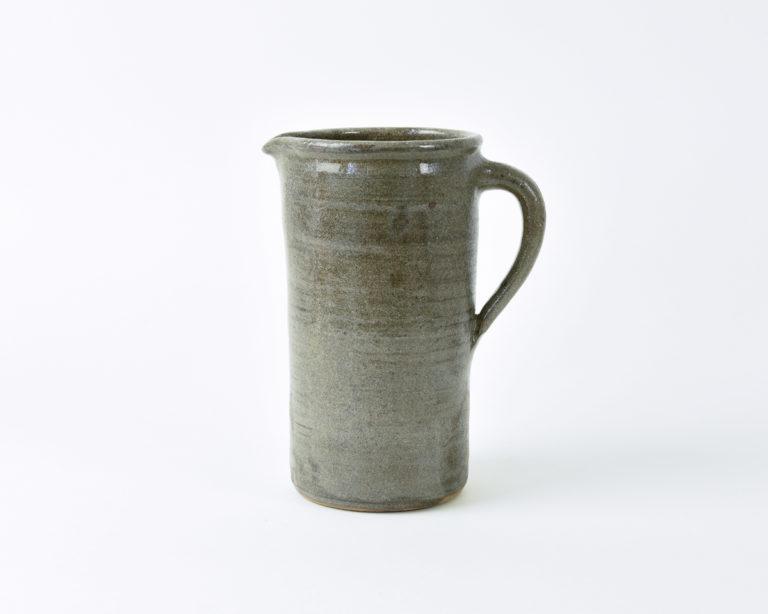 handmade functional ceramic pitcher