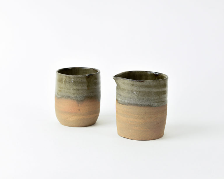 handmade functional ceramic jugs